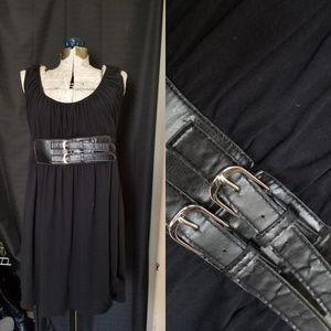 Black dress w/buckle